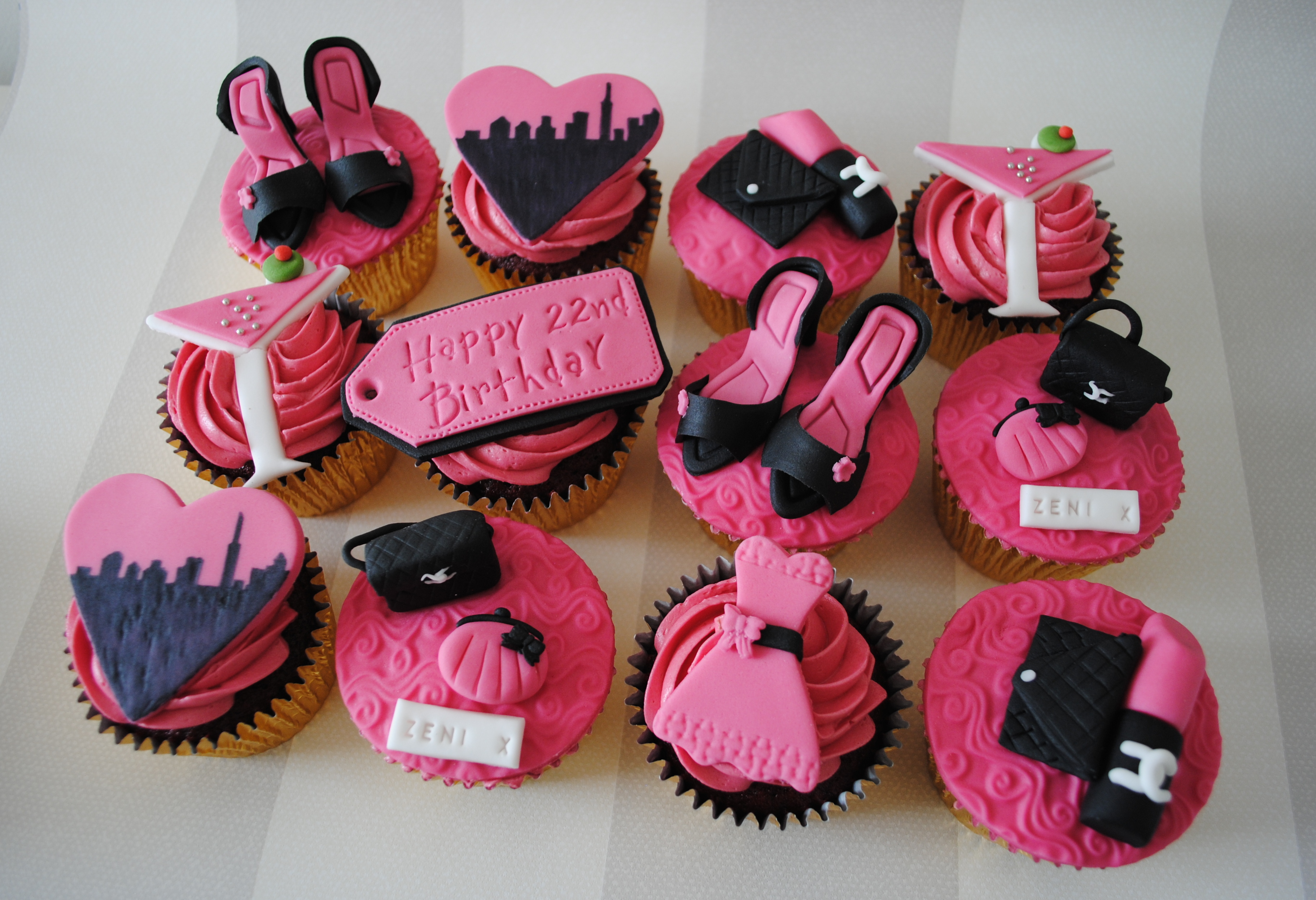 Images tagged birthdaycupcakes Miss Cupcakes