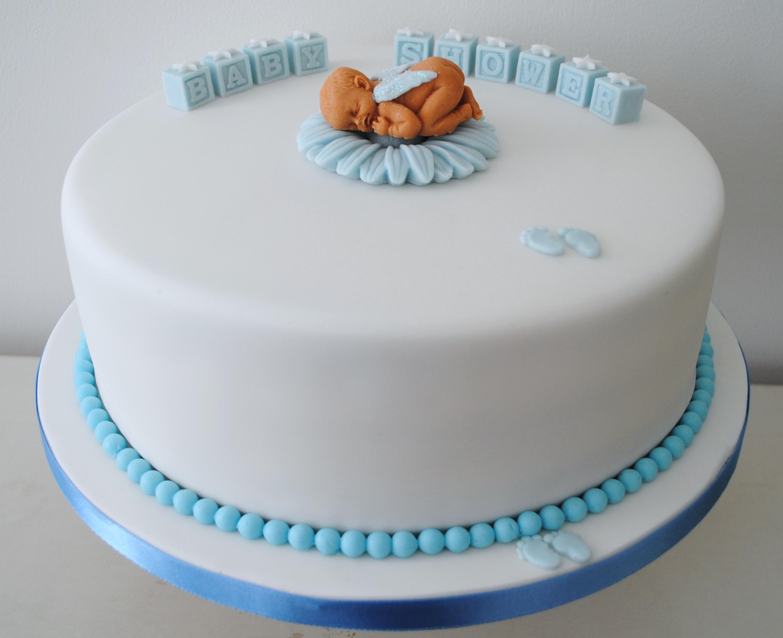 Boy Baby Shower Celebration Cake