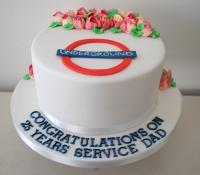 25 years of service London underground