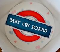 Baby on board cake