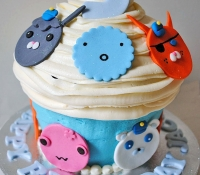Octonaughts giant cupcake