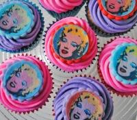Marilyn Monroe cupcakes