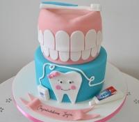 Dentistry graduation cake