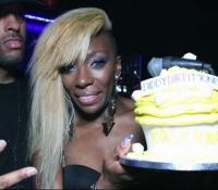 Kalenna celebrity birthday cake