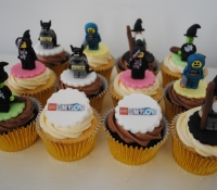 Lego dimensions cupcakes for Warner bros
