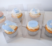 christening boxes cupcakes