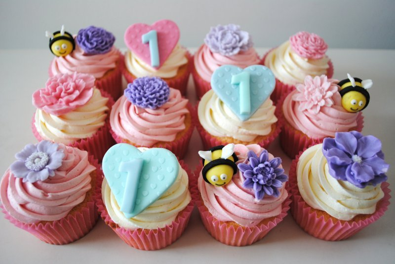 Image Result For Personalised Birthday Cup Cakes