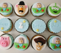 Toy Story Birthday Cupcakes