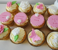 butterfly-and-flower-birthday-cupcakes