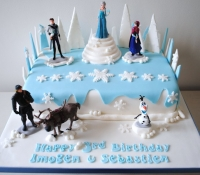 frozen-elsa-novelty birthday-cake