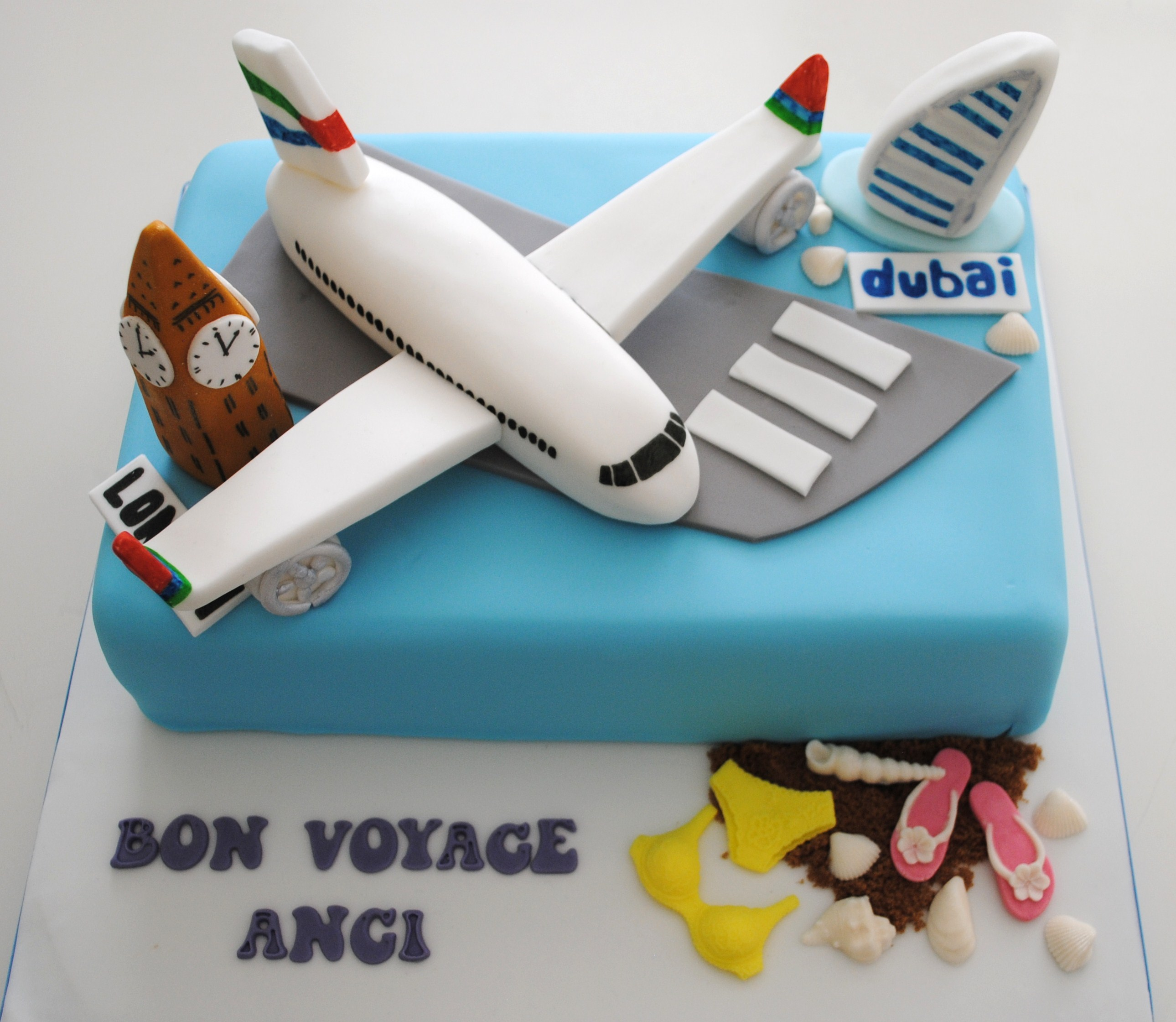 Cake Decorating Ideas Bon Voyage : Celebration Cakes London Miss Cupcakes Miss Cupcakes