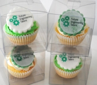 Future Engineering cupcakes individually boxed