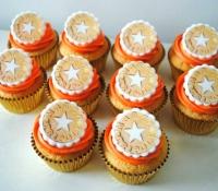 Marco Tripoli restaurant logo cupcakes