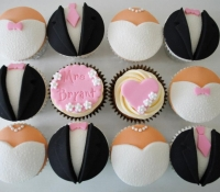Wedding Cupcake Gift Box