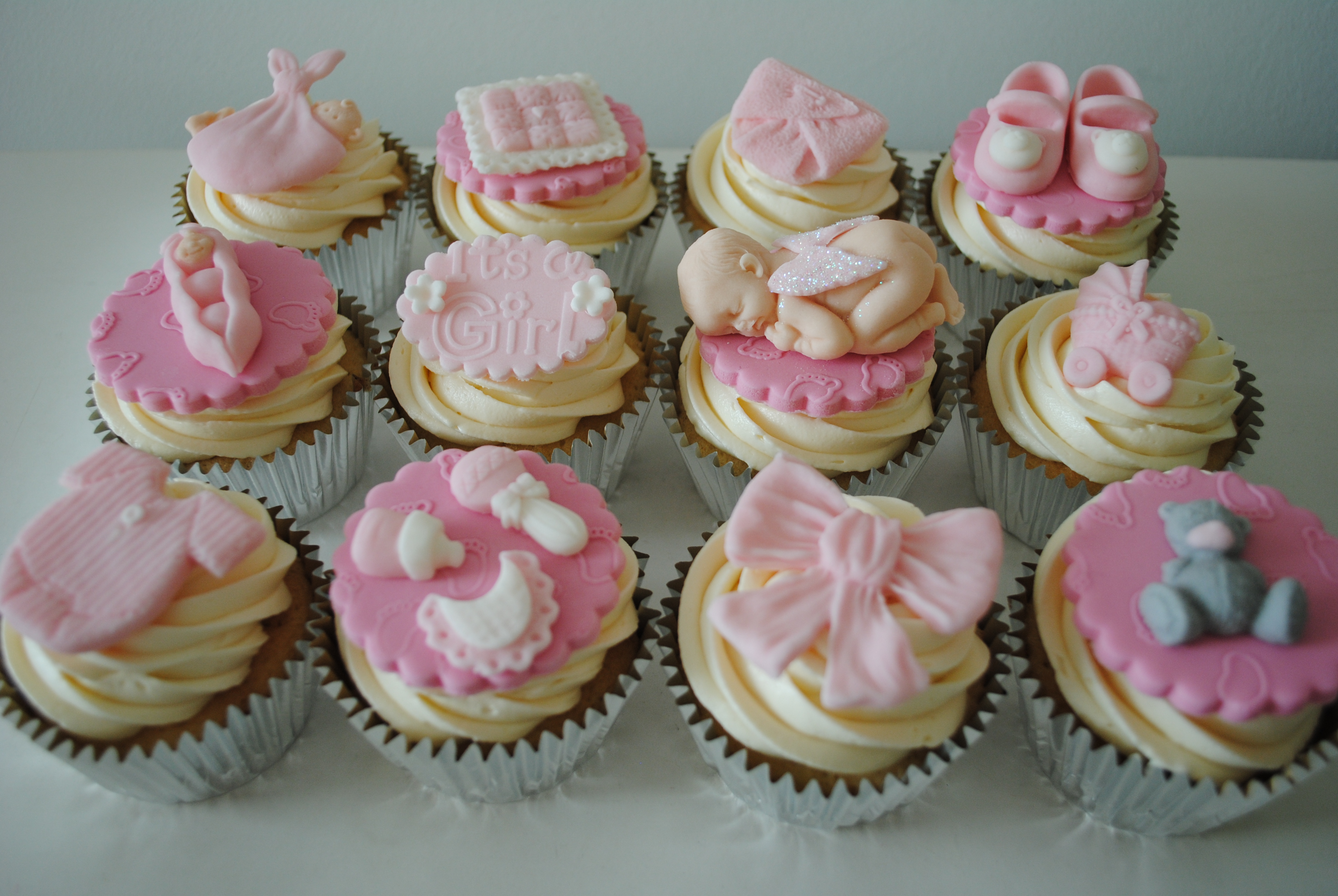 home shop baby shower girl baby shower cupcakes 12