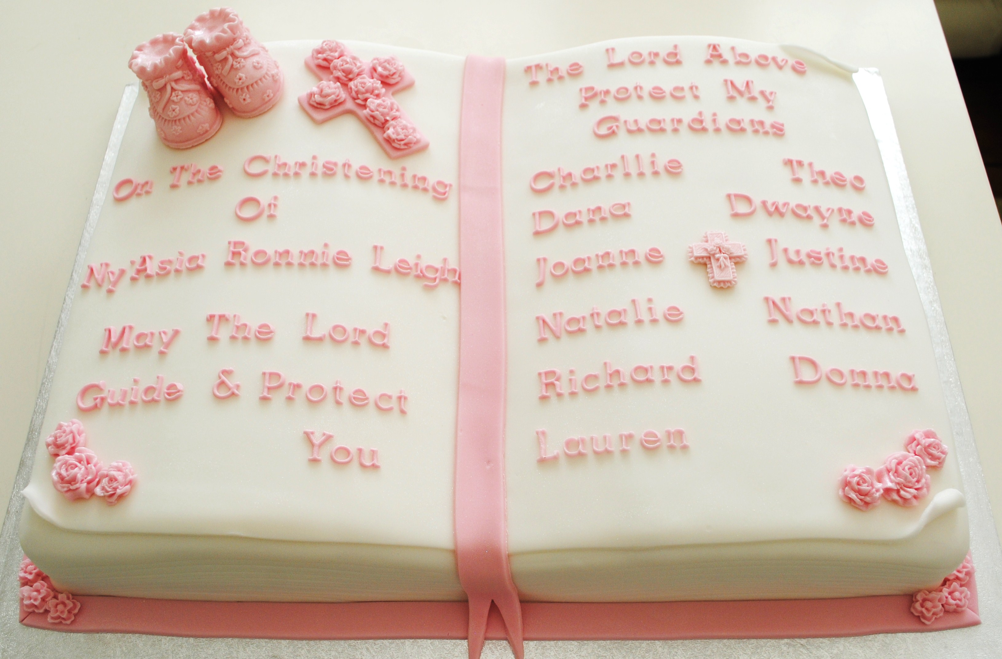 miss cupcakes blog archive bible christening cake