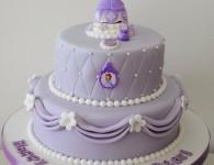 Sofia The First novelty birthday cake