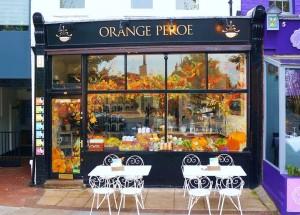 Orange Pekoe cafe