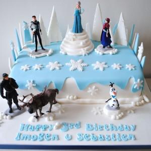 Home / Shop / Celebration cakes / Disney Frozen Birthday cake