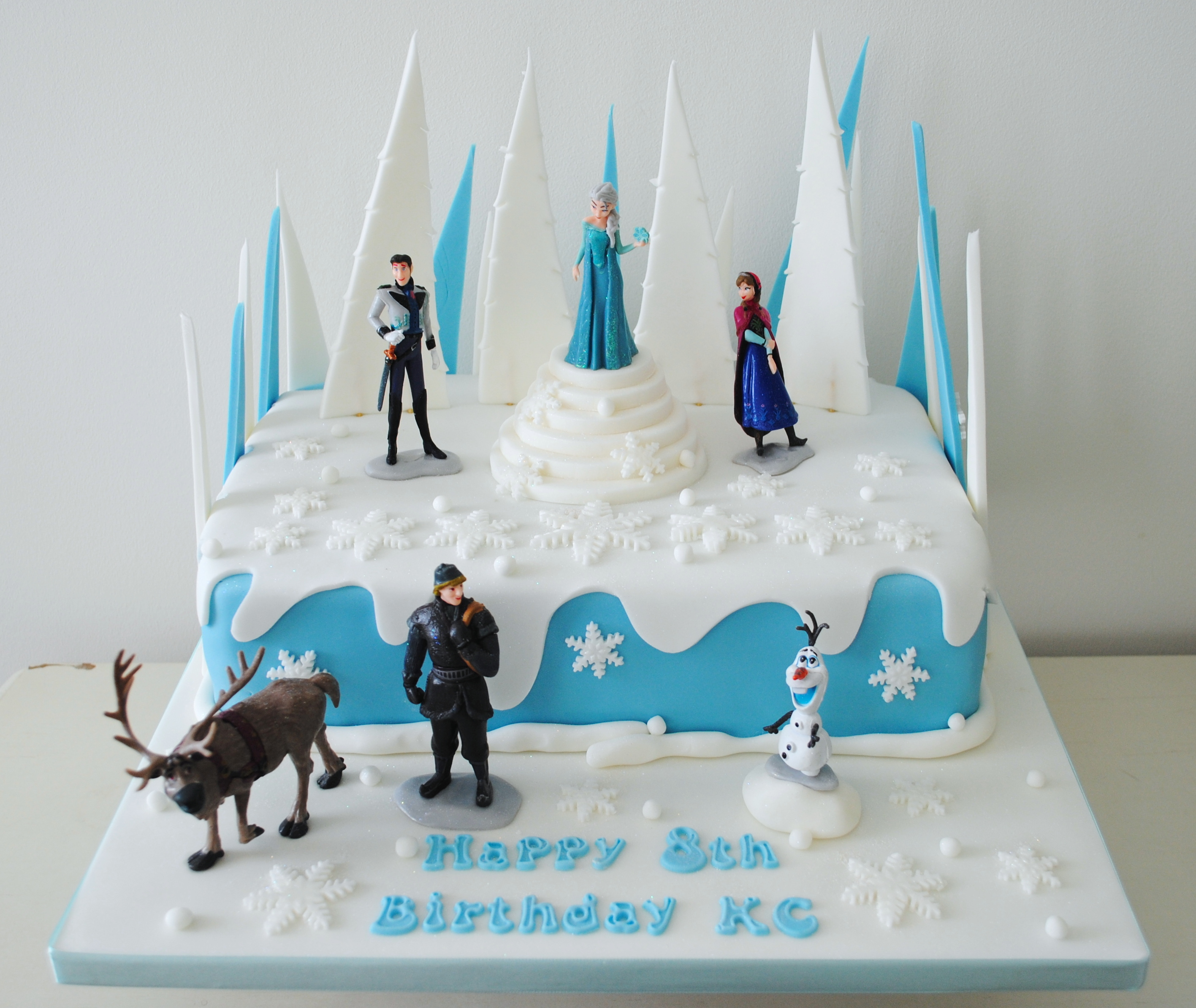 Miss Cupcakes Blog Archive Disney Frozen Birthday cake