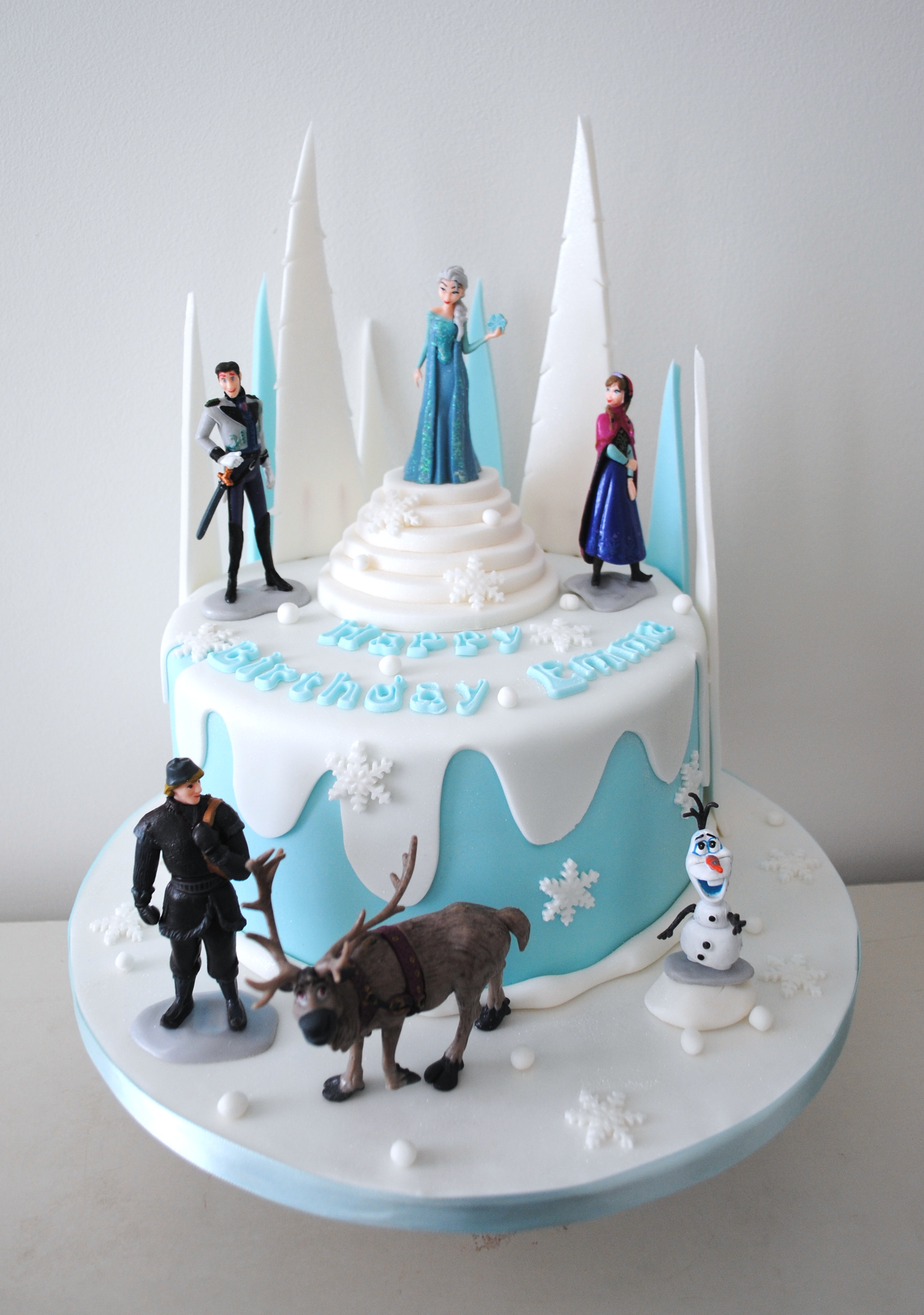 Here's some snaps of some of our Frozen birthday cakes featuring ...