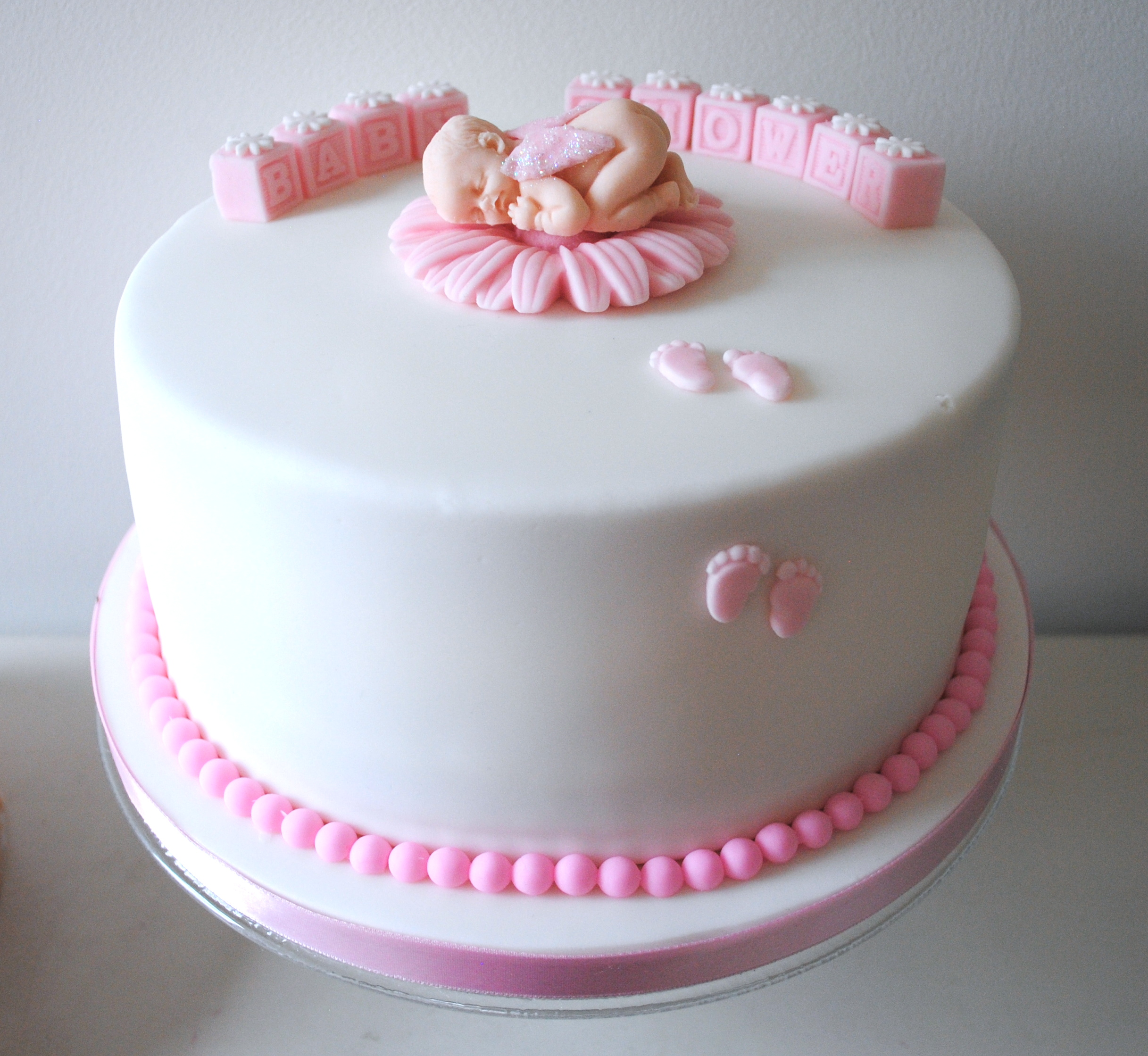 Miss Cupcakes 187 Blog Archive 187 Girl Baby Shower Cake